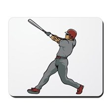 Left Handed Batter Mousepad