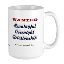 Wanted Overnight Mug