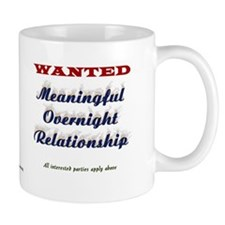 Wanted Overnight Small Mug