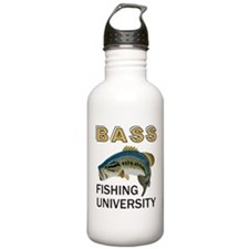 Bass Fishing University Sports Water Bottle