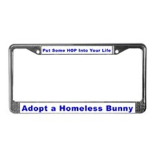 Cute Bunnys License Plate Frame