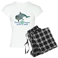 Peace Begins with a Smile Pajamas