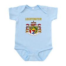 Liechtenstein Coat of arms Infant Bodysuit
