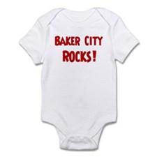 Baker City Rocks Infant Bodysuit