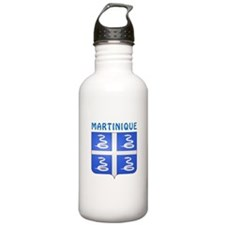 Martinique Coat of arms Water Bottle