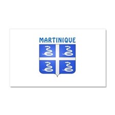Martinique Coat of arms Car Magnet 20 x 12