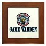 Fort Hood Game Warden Framed Tile