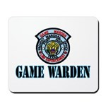 Fort Hood Game Warden Mousepad