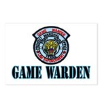 Fort Hood Game Warden Postcards (Package of 8)