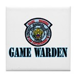 Fort Hood Game Warden Tile Coaster