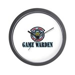 Fort Hood Game Warden Wall Clock