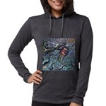 Fort Hood Game Warden Women's Raglan Hoodie