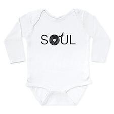 Soul Music Vinyl Long Sleeve Infant Bodysuit
