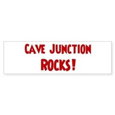 Cave Junction Rocks Bumper Bumper Sticker