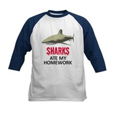 Sharks ate my Homework Tee