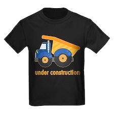 Under Construction Blue Truck T