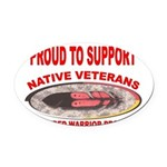 PROUD TO SUPPORT NATIVE VETERANS-WOUNDED WARRIOR O