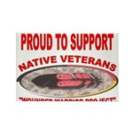 PROUD TO SUPPORT NATIVE VETERANS-WOUNDED WARRIOR R
