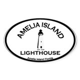 Amelia Island - Lighthouse Design. Decal