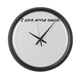 Cool Sauce Large Wall Clock