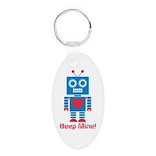 Beep Mine Robot Keychains