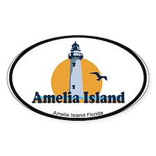 Amelia Island - Lighthouse Design. Decal