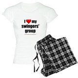 """Love My Swingers' Group"" pajamas"
