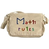 Math Rules Messenger Bag
