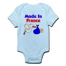 Made In France Boy Shirt Infant Bodysuit