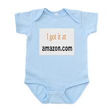 I got it at Amazon.com Infant Bodysuit