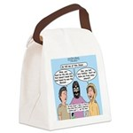 Road to Emmaus Canvas Lunch Bag