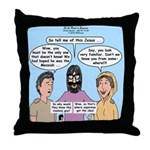 Road to Emmaus Throw Pillow