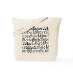 PW:G Logo Design Tote Bag