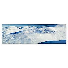 Cairnwell ski centre, Scotland - Bumper Sticker