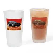 Car race Drinking Glass