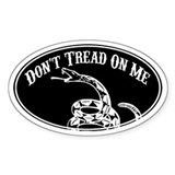 Dont Tread On Me  Aufkleber