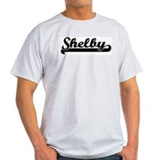 Black jersey: Shelby Ash Grey T-Shirt