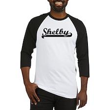 Black jersey: Shelby Baseball Jersey