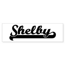 Black jersey: Shelby Bumper Bumper Sticker
