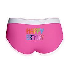 happy birthday - happy Women's Boy Brief