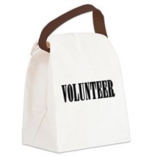 Volunteer Canvas Lunch Bag