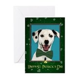 Dalmatian St. Patricks Day Card