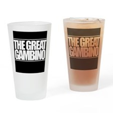 'The Great Gambino' B/W Drinking Glass