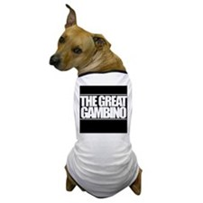 'The Great Gambino' B/W Dog T-Shirt