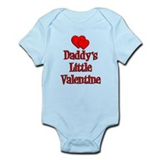 Daddys Little Valentine Infant Bodysuit