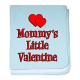 Mommys Little Valentine baby blanket