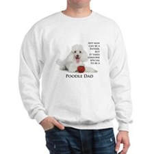 Poodle Dad Sweatshirt