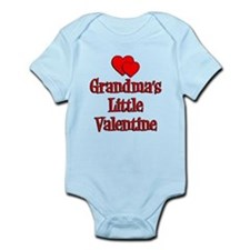 Grandmas Little Valentine Infant Bodysuit