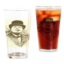 churchill Drinking Glass