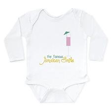 Jamaican Smile Long Sleeve Infant Bodysuit